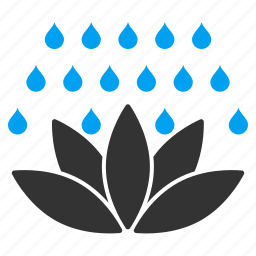bath, bathroom, clean, cleaning, shower, spa, water drops icon