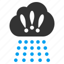 cloud, cloudscape, meteorology, rain, rainy weather, storm, thunderstorm icon