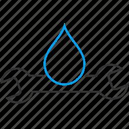 equipment, pipe, plumbing, repair, service, valve, water supply icon