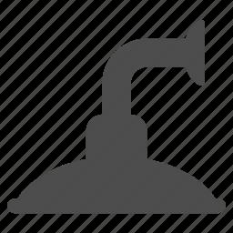 detail, faucet, pipe, plumbing, shower head, tap, waterworks icon