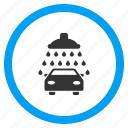 auto, automobile service, car shower, carwash, vehicle, wash, washing icon