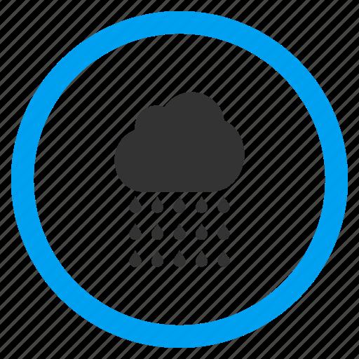 autumn, cloud, cloudy sky, rain, rainy weather, storm, water drops icon