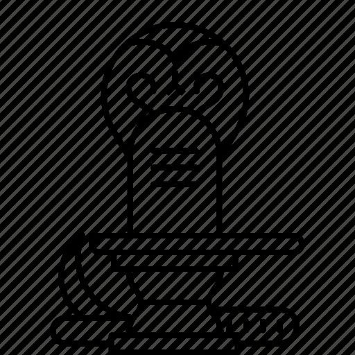 lingam, lord, prey, shiva, shivling, snake, spiritual icon