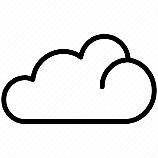 cloud, clouds, cloudy, saas, weather icon