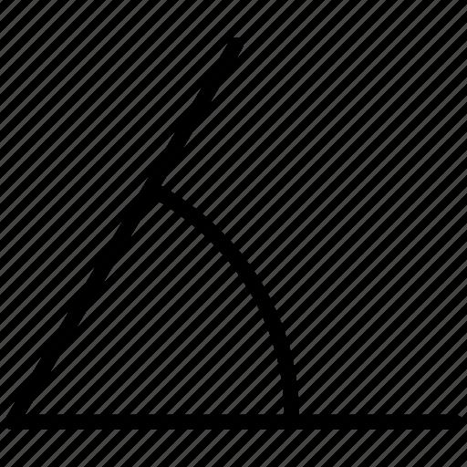 angle, degree icon