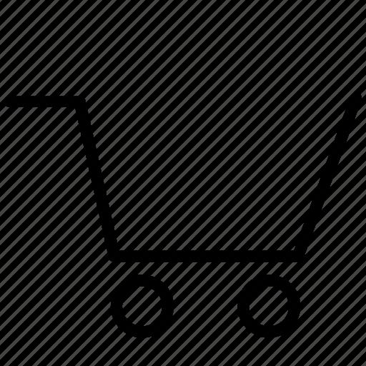 basket, buy, cart, ecommerce, empty, online, order, shipping, shopping, shopping cart, webshop icon