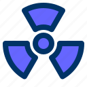 alchemy, nuclear, radiation, radioactive, science icon