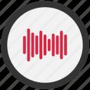 audio, indicator, sound, volume