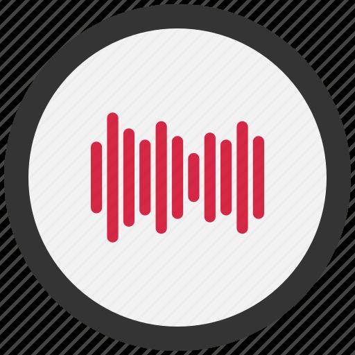 audio, indicator, sound, volume icon