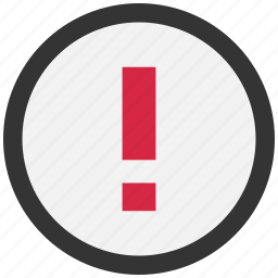 alert, attention, danger, error, exclamation, probl icon