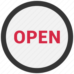 business, closed, inactive, shop, sign, store icon