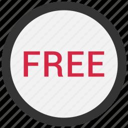free, gratis icon