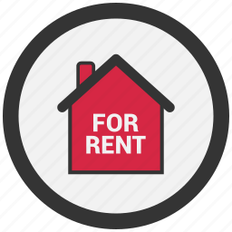 buying, estate, for, home, house, real, rent icon