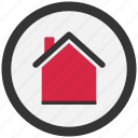 buy, estate, home, house, real, shopping, yellow icon