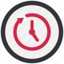 clock, history, refresh, reload, repeat, restart, retry icon