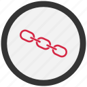 chain, dependence, linkage icon