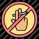 forbidden, hand, no, prohibited, smoking