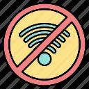 forbidden, prohibited, signal, wifi, wireless