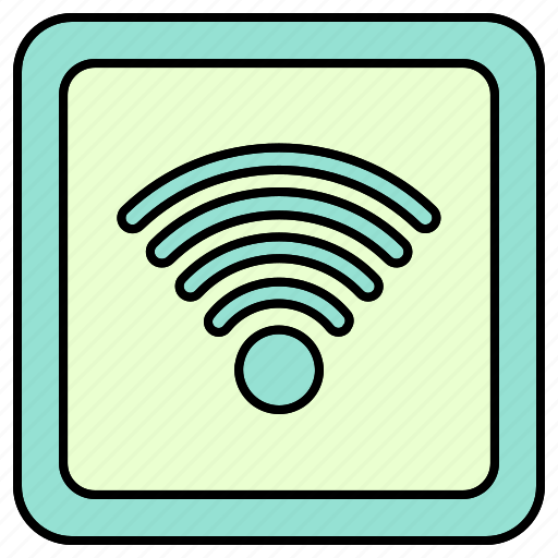 sign, signal, wifi, wireless, zone icon