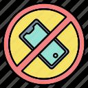 denied, forbidden, phone, prohibited, smartphone