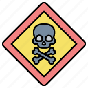 danger, sign, warning icon