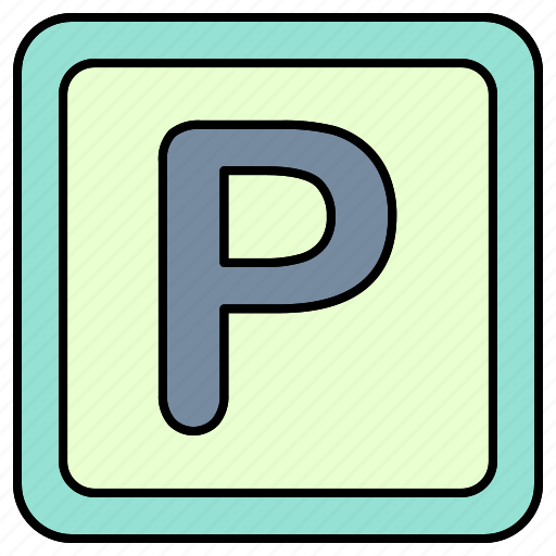 parking, road, sign, zone icon