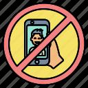 camera, forbidden, no, photo, prohibited, selfie, sign icon