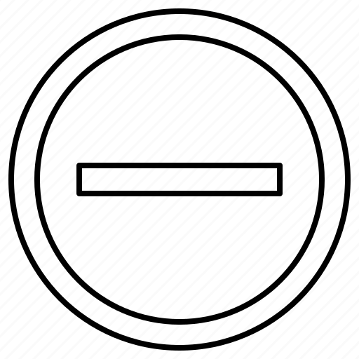Entry, navigation, no, sign icon - Download on Iconfinder