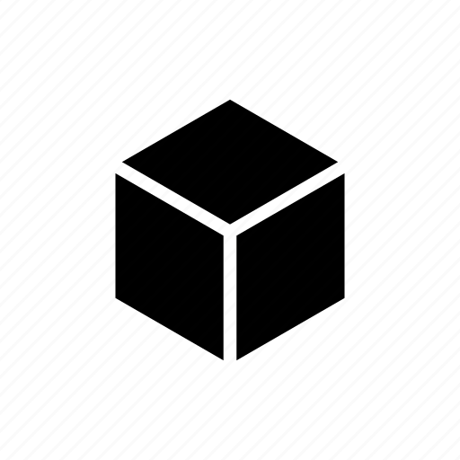 bag, box, cube, delivery, modeling, package, shipping icon