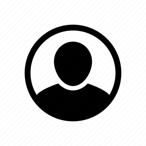 account, avatar, login, person, profile, settings, user icon
