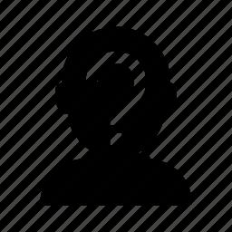 account, avatar, incognito, man, person, profile, user icon