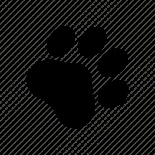 animal, dog, footprint, nature, pet, step, track icon