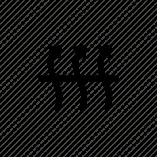 arrow, breathable, breathe, cloth, fabric, fabrics, sign icon