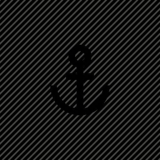 anchor, boat, marine, sailing, sea, ship, travel icon