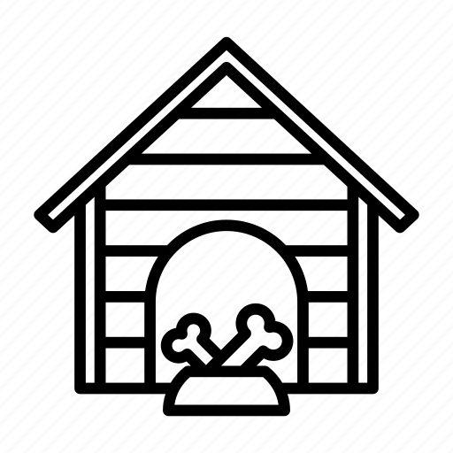 animal, construction, dog, home, house, kennel, pet icon
