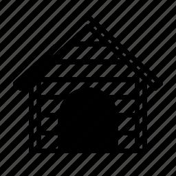 animal, construction, dog, house, hut, kennel, pet icon
