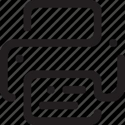 pdf, print, printer, printing, publish icon