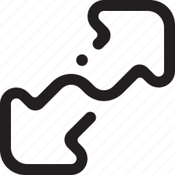 arrows, enlarge, expand, fullscreen, max, maximize, resize icon