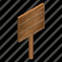 board, cartoon, isometric, retro, vintage, wood, wooden
