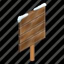 ads, advertising, cartoon, isometric, plank, singpost, wood