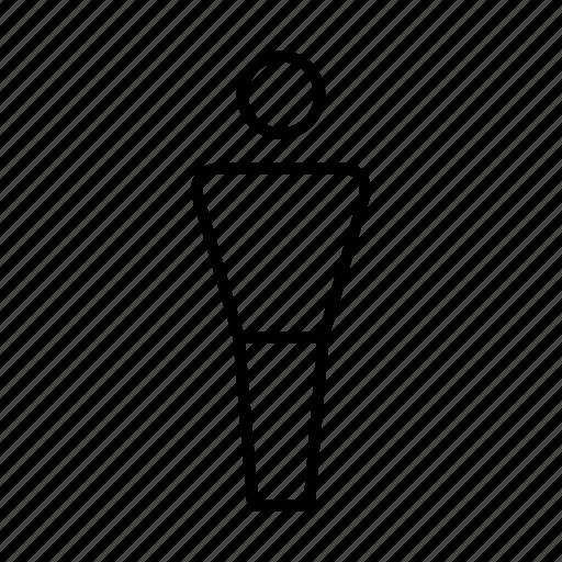 man, sign, symbolism, symbols, toilet sign, wc icon