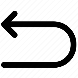 arrow, arrows, back, down, download, move, navigation icon