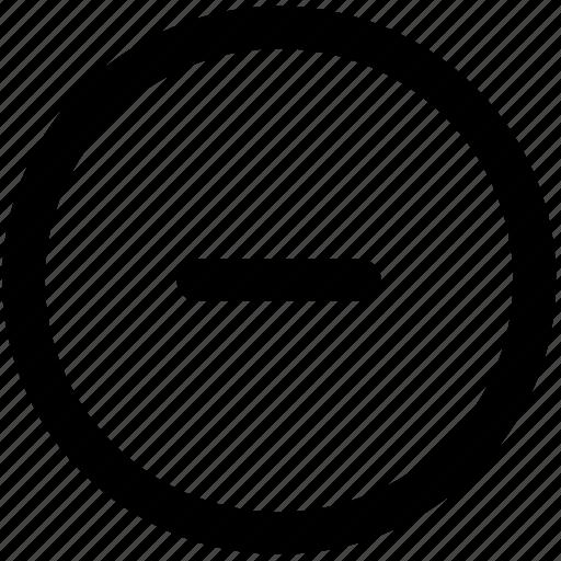 cancel, close, document, minus, remote, remove, trash icon