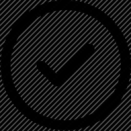 approve, checkmark, done, good, mark, pin, tick icon