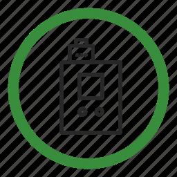 atomizer, boxmag, drip, electronic cigarette, permission, smoking, vaping icon