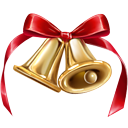 bells, christmas, jingle icon