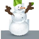 boneco de neve, inverno ícone