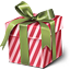 christmas, gift, present, xmas icon