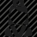 avatar, character, face, medic, paramedic, user, woman icon