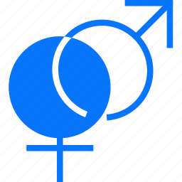 and, female, male, people icon
